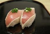 キメジ柚子塩たたき500g以上(不定形3~4本):950円