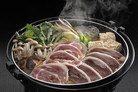 おうちで国産鴨の鴨鍋セット約2人前(絶品スープ付):1708円