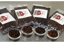 コーヒー4種類400gセット(ブルマンブレンド、ロイヤルブレンド、トラジャ、モカブレンド) 送料無料・30%オフ