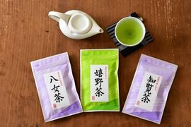 九州銘茶3種飲み比べセット:1500円