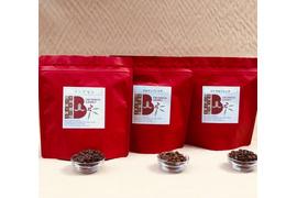 コーヒー3種類600gセット(ブルマンブレンド・ロイヤルブレンド・マンデリントバコ/各200g)送料無料・30%オフ
