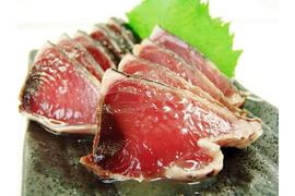 かつお柚子塩たたき1kg以上(不定形6~8本):1750円