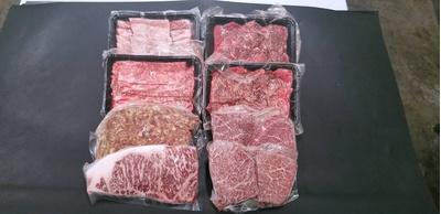 特選とちおとめ牛贅沢よりどりセット:2.35kg