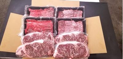 黒毛和牛上赤身セット:2kg:14000円