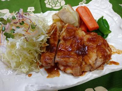 秘伝!濃厚旨たれ 宮城県森林鶏のもも肉たれ焼き:3366円