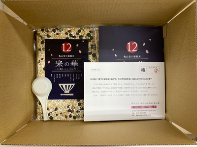 米の華~12種のヘルシーセレクト~:(500g×2袋):3780円