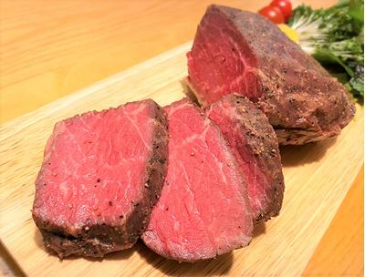 【特価商品】特製熟成肉 ローストビーフ (約800g-1kg):3750円