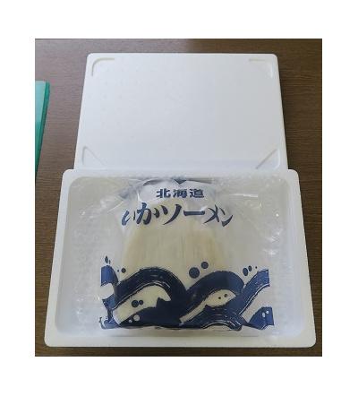 北海道産いかソーメン 1kg:4900円